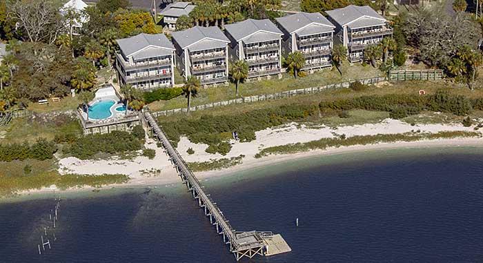 Condominium rentals cedar key florida for Cedar key fl fishing